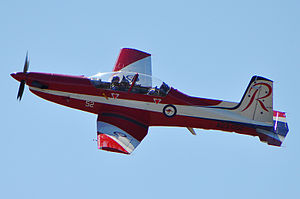 Air Training Wing RAAF - One of the Pilatus PC-9s operated by the Central Flying School and No. 2 Flying Training School within Air Training Wing