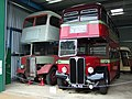 AEC Regent III buses with Weymann bodies at Oxford Bus Museum, Long Hanborough, Oxfordshire.jpg