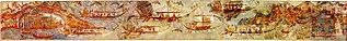 Ship procession fresco (Akrotiri)