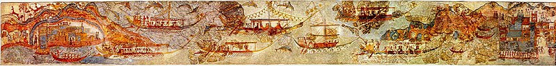 AKROTIRI SHIP-PROCESSION-FULL PANO-3