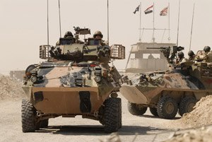 7th Brigade (Australia) - 2/14 LHR ASLAVs in Iraq in 2006