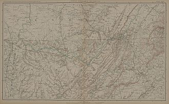 Battle of Franklin (1864) - Southern Tennessee-Alabama, 1864.