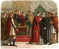 A Chronicle of England - Page 101 - William Pays Court to the English Leaders.jpg
