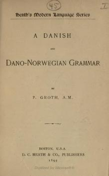 A Danish and Dano-Norwegian grammar.djvu
