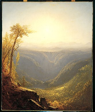 Kaaterskill Clove - Image: A Gorge in the Mountains (Kauterskill Clove) MET R49X 351R2