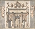 A Reconstruction of the Arch of Septimius Severus MET DP800926.jpg