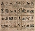 A board game with various forfeits, penalties and rewards. E Wellcome V0040245.jpg