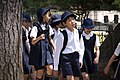 A group of school children of Nara; May 2012.jpg