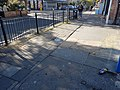 A pavement on Philip Lane, Haringey, London 01.jpg