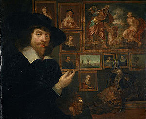 Art in early modern Scotland - Self portrait of George Jamesone, 1642