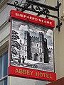 Abbey Hotel sign - geograph.org.uk - 2375732.jpg