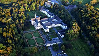 Marienstatt Abbey Church in Rhineland-Palatinate, Germany