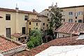 Accademia di Firenze, veduta sul cortile del museo dell'accademia 01.JPG