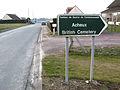 Acheux-en-Amiénois cimetière militaire (panneau) 1.jpg
