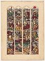 "Achille Devéria - Study for Four Stained Glass Windows ""Généalogie d'Abraham"" - 2010.169 - Cleveland Museum of Art.jpg"