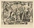 Achilles en Polyxena Het onderhoud tussen Achilles en Polyxena Geschiedenis van Achilles (serietitel), RP-P-OB-50.253.jpg