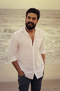 Tovino Thomas Indian film actor and model