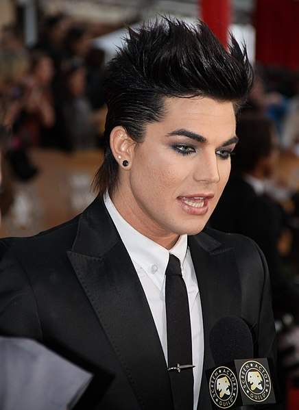 File:Adam Lambert at the 2010 SAG Awards.jpg