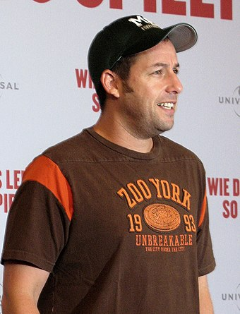 Sandler in Berlin in 2009