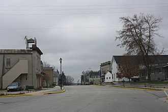 Adell, Wisconsin - Image: Adell Wisconsin Downtown 1