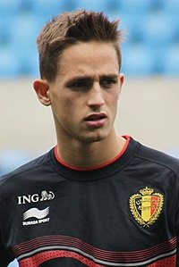 Adnan Januzaj - the talented, nice, clever,  football player  with Albanian roots in 2018
