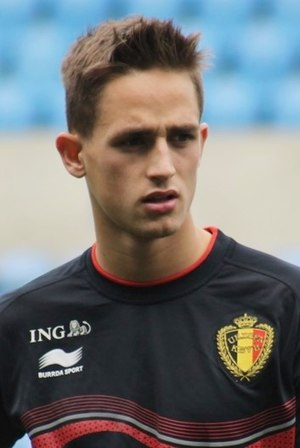 Adnan Januzaj - Januzaj training with Belgium in 2014