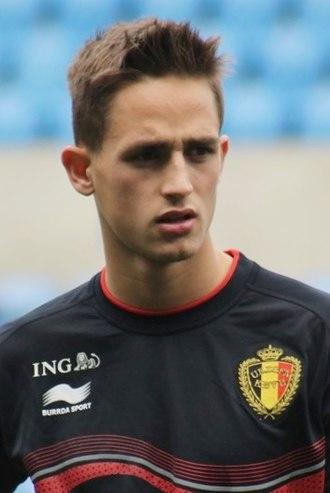Adnan Januzaj - Januzaj training for Belgium in 2014