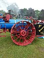 Advance traction engine, rear wheel, Abergavenny.jpg