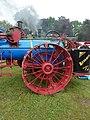 Advance traction engine, rear wheel, Abergavenny.jpg