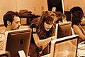 Advanced editing workshop at Wikipedia in Higher Education Summit, 2011-07-09 - retouch for WMF annual report 2010-11 (RGB).jpg