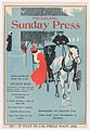 Advertisement for Philadelphia Sunday Press- February 2d, 1896 MET DP866318.jpg