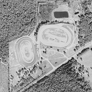 Volusia Speedway Park - Image: Aerial Volusia Speedway Park 01