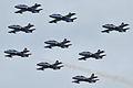 Aermacchi MB-339 Pattuglia Acrobatica Nazionale (PAN) Frecce Tricolori (9703110944).jpg