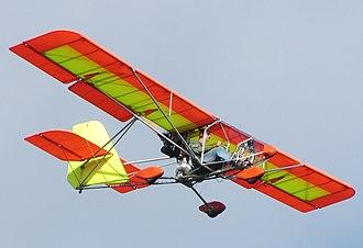 Aero-Works Aerolite 103 - Image: Aerolite 103Flight