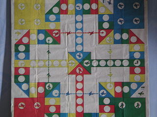 Aeroplane chess 20th-century board game
