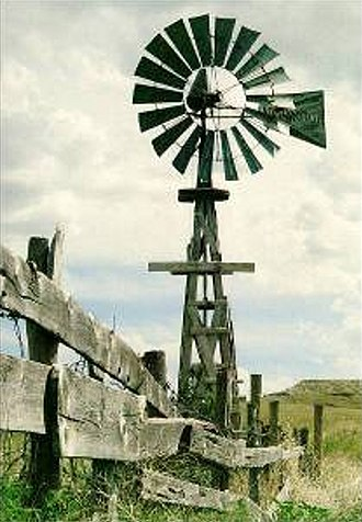 Agate Fossil Beds National Monument - Image: Agfo windmill cook homestead