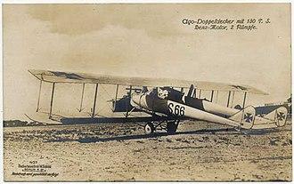 AGO C.II - An Ago C.II with 3-bay wings