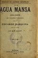 Agua mansa - zarzuela dramática en cuatro cuadros (IA aguamansazarzuel3341gayp).pdf
