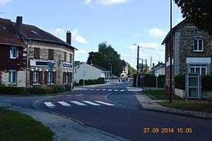 Aguilcourt - The centre of Aguilcourt