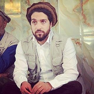 Ahmad Massoud Afghan politician and Panjshir resistance leader (born 1989)