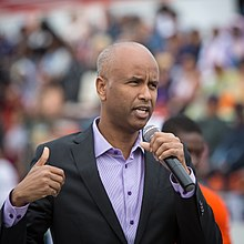 Ahmed Hussen at the Toronto Caribbean Carnival - 2017 (36258275322).jpg
