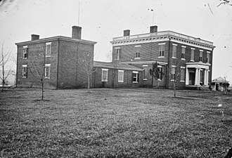 Varina, Virginia - Image: Aikens House, near Dutch Gap Canal, Va NARA 528983