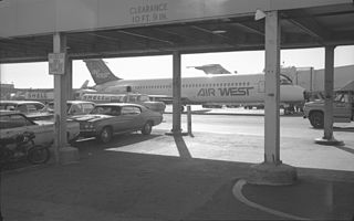 Hughes Airwest Flight 706 1971 aviation accident in Los Angeles County, California