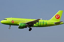 Airbus A320-200 der S7 Airlines