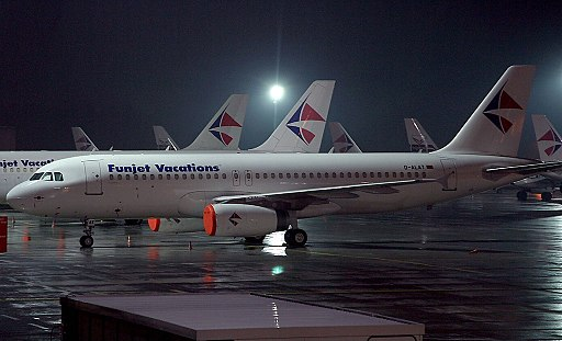 Airbus A320-232, Funjet Vacations AN0466070
