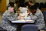 Airmen deploy to deliver Ebola treatment facility with US relief package 140922-F-KB808-052.jpg