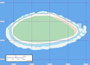 Akiaki - Map of Akiaki Atoll