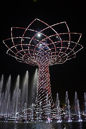 Expo 2015 - Albero della vita (Tree of Life)