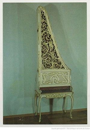 Gemeentemuseum Den Haag - Image: Albert Delin 1760 Clavicytherium