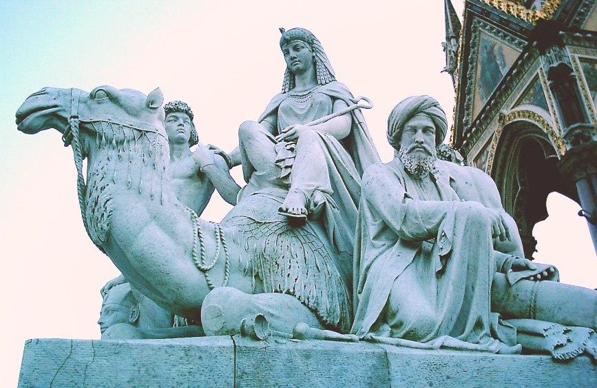 Albert Memorial statue
